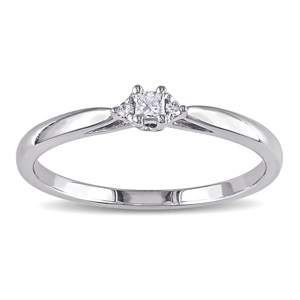 Miadora 10k Gold Diamond Accent Promise Ring