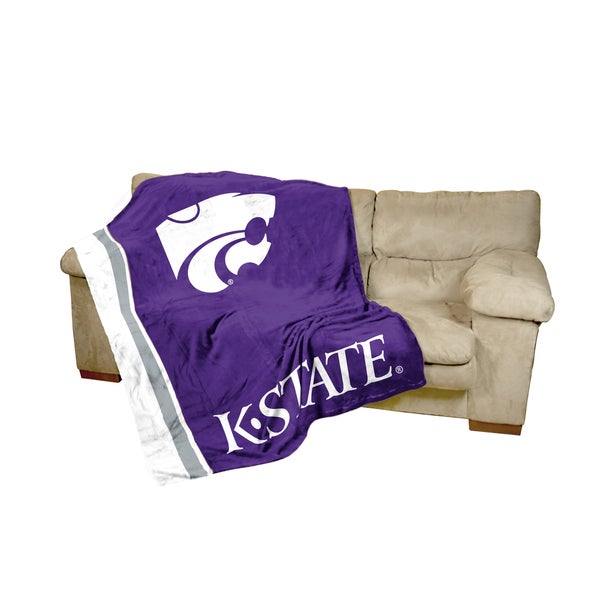Kansas State UltraSoft Oversize Throw Blanket