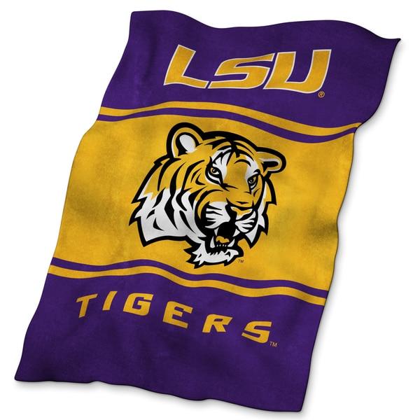 LSU Tigers Ultrasoft Oversize Throw Blanket