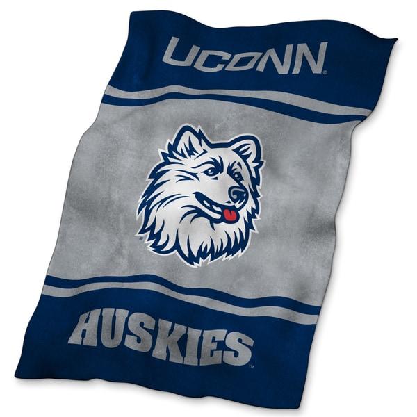 UConn UltraSoft Oversized Throw Blanket
