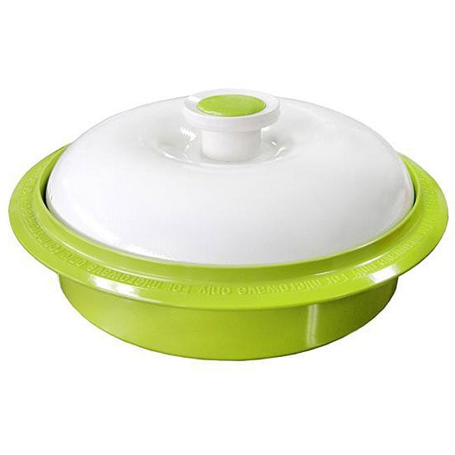 Microhearth Green Nonstick Pan Microwave Cookware Free Shipping Today Overstock Com 12296411