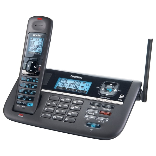 Uniden DECT4086 Cordless Phone - Free Shipping Today - Overstock.com - 12296753