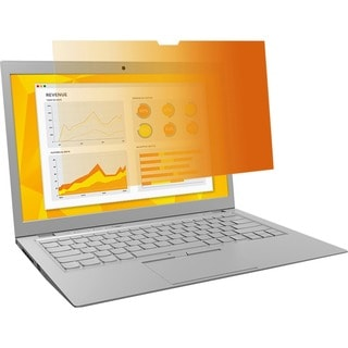 "3M GPF14.0W9 Gold Privacy Filter for Widescreen Laptop 14.0"" Gold"
