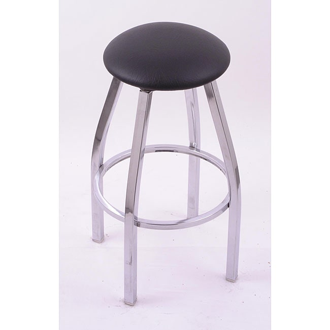 Cambridge Chrome 25 Inch Backless Counter Swivel Stool