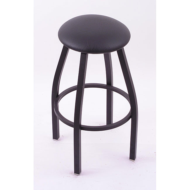 Shop Cambridge Black 25 Inch Backless Counter Swivel Stool With