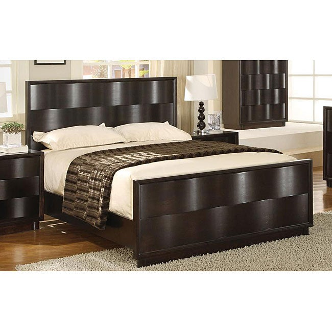 Wave Front Queen-size Bed