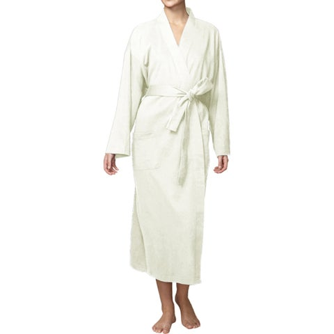 Unisex Organic Combed Cotton Jersey Bath Robe