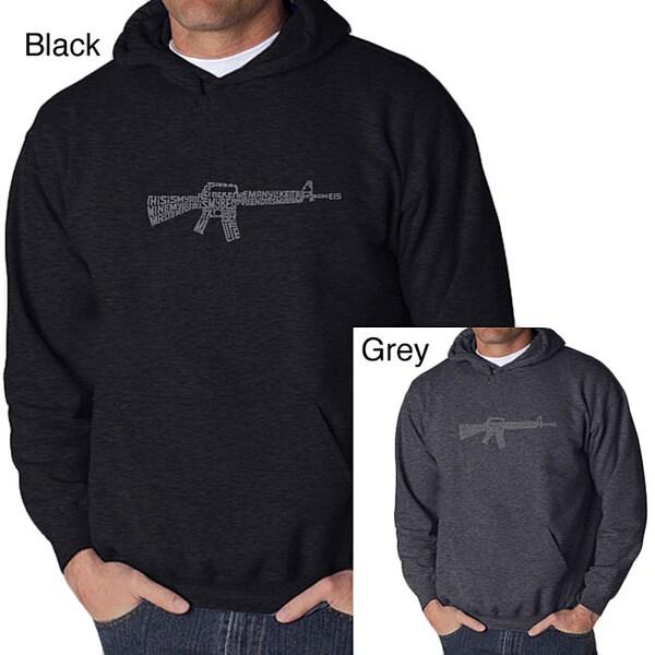 Los Angeles Pop Art Men's Rifle Hoodie