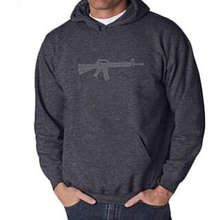 Los Angeles Pop Art Mens Rifle Hoodie