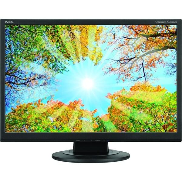 "NEC Display AccuSync AS191WM 19"" LCD Monitor - 5 ms"