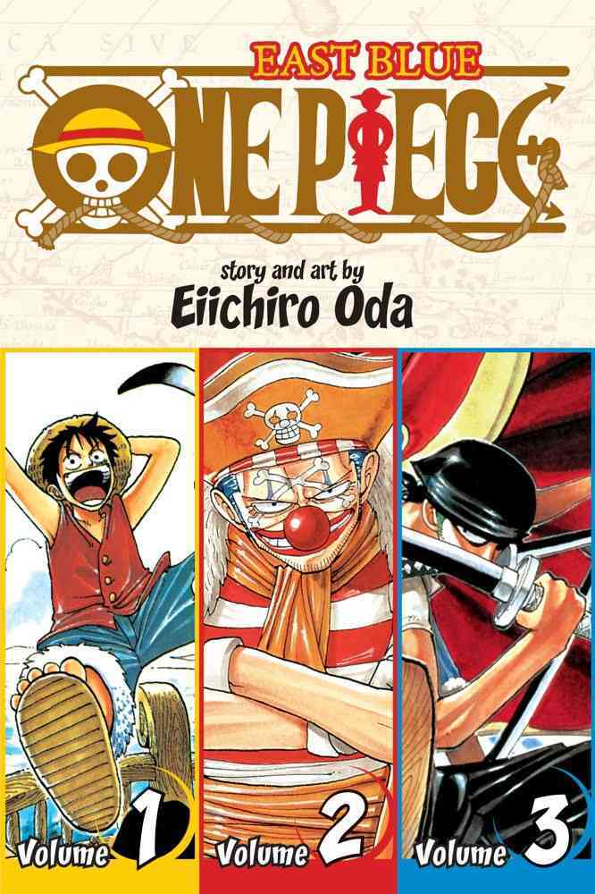 One Piece 1: East Blue 1-2-3 Omnibus (Paperback)