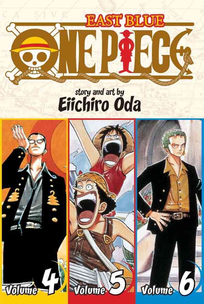 One Piece 2: East Blue 4-5-6 Omnibus (Paperback)