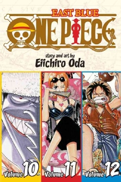 One Piece 4: East Blue 10-11-12 Omnibus (Paperback)