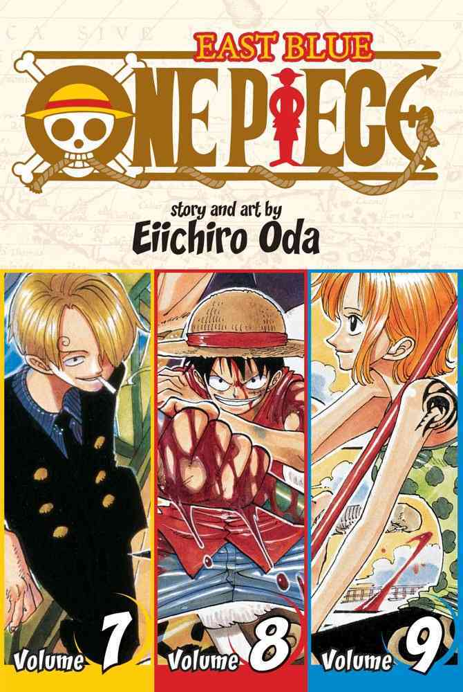 One Piece 3: East Blue 7-8-9 Omnibus (Paperback)