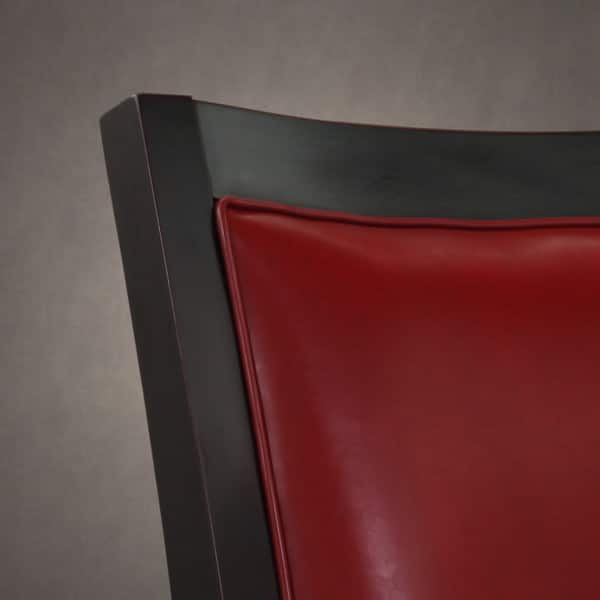 Peachy Shop Connor Burnt Red Leather Chair Free Shipping Today Inzonedesignstudio Interior Chair Design Inzonedesignstudiocom