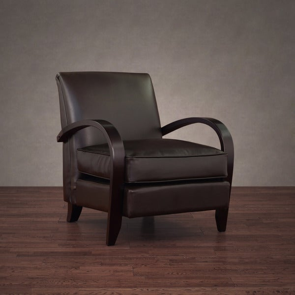 Bloomington Dark Brown Leather Chair