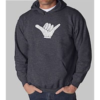 Los Angeles Pop Art Men's 'Hang Loose' Hoodie