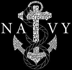 Los Angeles Pop Art 'Navy' Men's Hoodie - Thumbnail 1