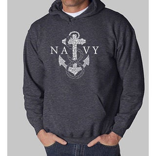 Los Angeles Pop Art 'Navy' Men's Hoodie