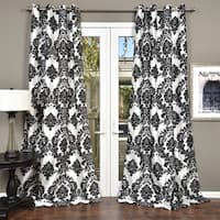 Silver Orchid Lucille Venetian Grommet Top 84-inch Curtain Panel