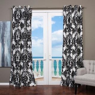 Lambrequin Venetian Grommet Top 84-inch Curtain Panel