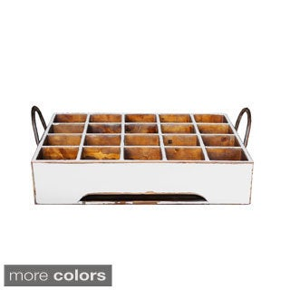 Antiqued Stain Milk Crate