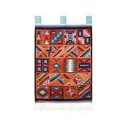 Handmade 'Calendar in Sun and Shade' Wool Tapestry (Peru)