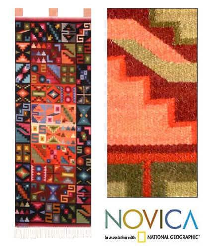 Wool 'Heavenly Bodies' Tapestry (Peru)