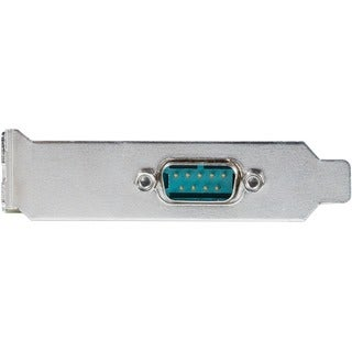 Star Tech 1 Port Low Profile Native PCI Express Serial Card w/ 169