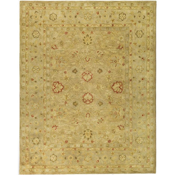 Safavieh Handmade Majesty Light Brown/ Beige Wool Rug (9'6 x 13'6)