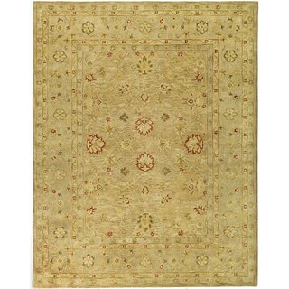 Safavieh Handmade Majesty Light Brown/ Beige Wool Rug (12' x 18')