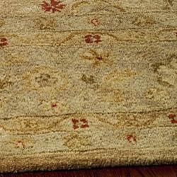 Safavieh Handmade Majesty Light Brown/ Beige Wool Runner (2'3 x 16') - Thumbnail 2