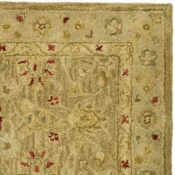 Safavieh Handmade Majesty Light Brown/ Beige Wool Runner (2'3 x 22') - Thumbnail 1