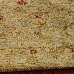 Safavieh Handmade Majesty Light Brown/ Beige Wool Runner (2'3 x 22') - Thumbnail 2