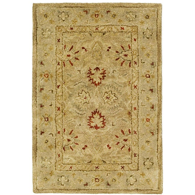 New Brand Devlin Persian Rug Handmade 100 Wool Area Rugs: Safavieh Handmade Majesty Light Brown/ Beige Wool Runner