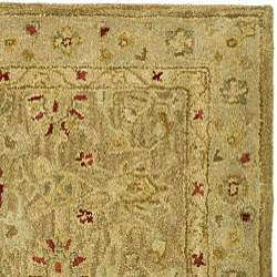 Safavieh Handmade Majesty Light Brown/ Beige Wool Runner (2'3 x 8') - Thumbnail 1