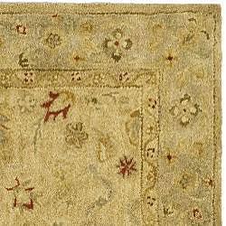 Safavieh Handmade Majesty Light Brown/ Beige Wool Rug (3' x 5')
