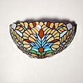 Half-moon Stained Glass Appolonia Accent Light