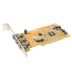 Siig NN-400P33-B IEEE1394 Video Capture Firewire Card (Refurbished)