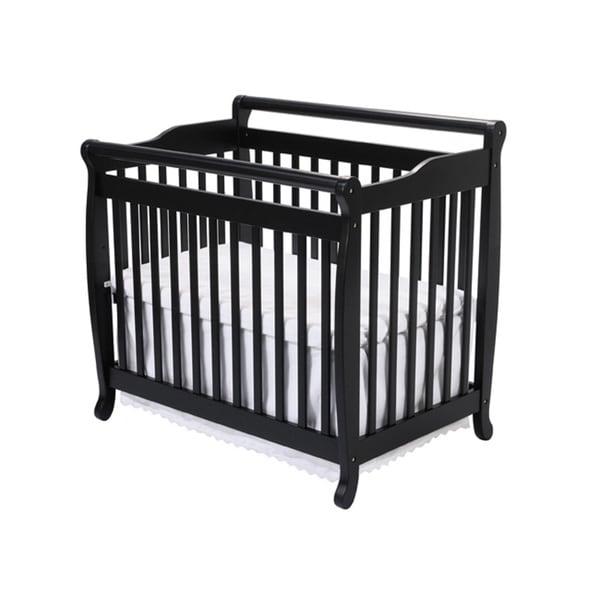 DaVinci Emily Mini Crib in Ebony