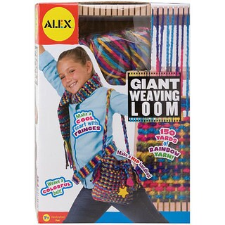 Alex Toys Giant Weaving Loom Kit (Ages 7 +)