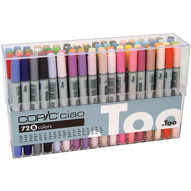 Copic Ciao 72-piece Marker Set (Copic Ciao Marker 72/Set ...