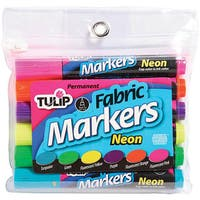 Duncan Primary Colors Tulip Large Fabric Markers (Pack of 6)