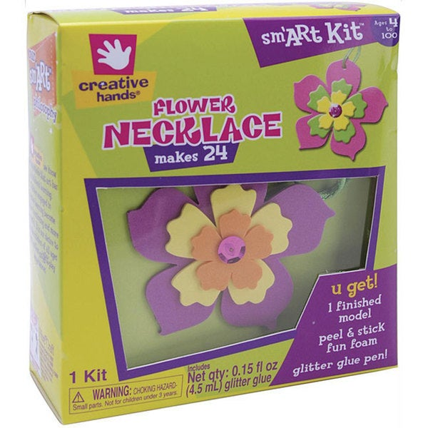 Creative Hands Flower Necklace Foam Kit