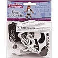 Springfield Collection Black/ White Doll Soccer Shoe Set