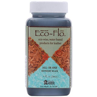 Eco-Flo 4-oz Midnight Black Stain and Finish