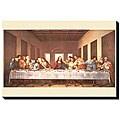 Leonardo DaVinci 'Last Supper' Giclee Canvas Art