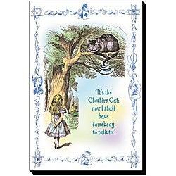 Tenniel 'Alice in Wonderland: It's the Cheshire Cat' Canvas Art