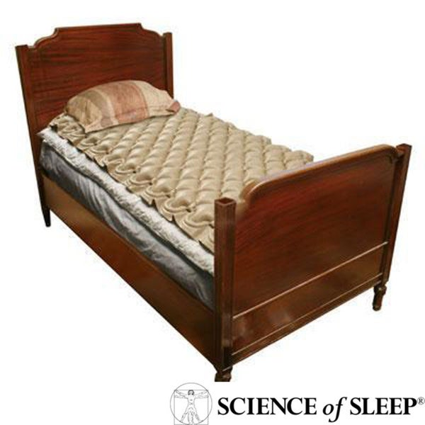 Science of Sleep Alternating Pressure Mattress Topper and
