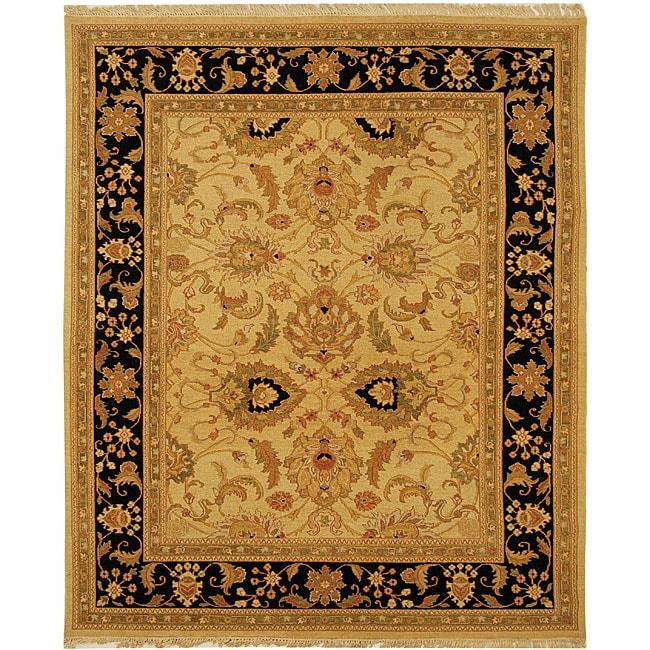 Handmade Indo Sumak Flatweave Mastery Rug (4' x 6')